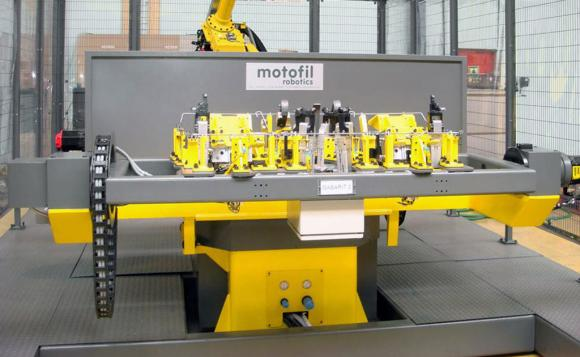 Roboty Spawalnicze z obrotnikiem H 5