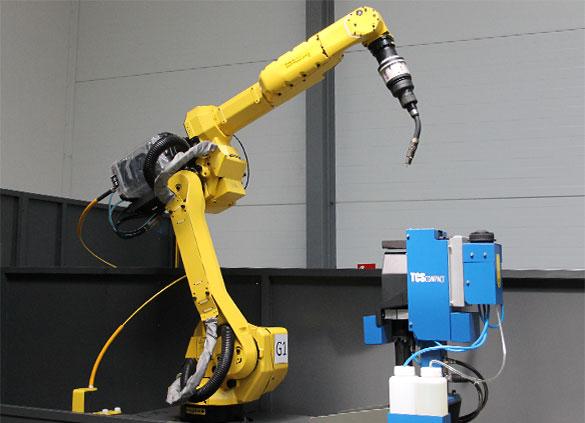 robot spawalniczy